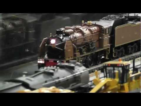 MTH Nord Chapelon Pacific leads the Orient Express in HD