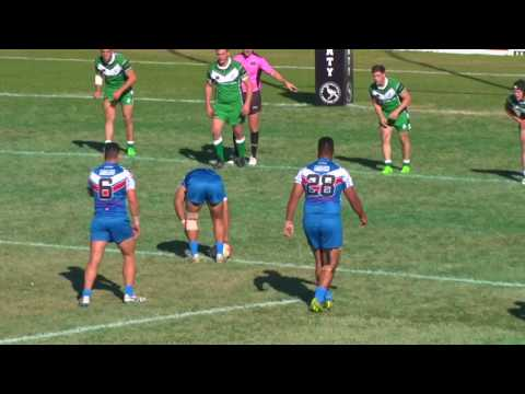 Pacific Islands v Ireland 1st Half - Student Rugby League World Cup 2017 - Round 1