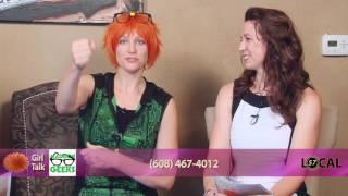 Girl Talk I CyBorg Lowery | Madison Geeks I www.madisongeeks.com I 608-960-8785 | 07/14/16
