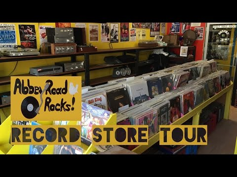 Abbey Road Rocks tour - Omemee, ON. Record Store.