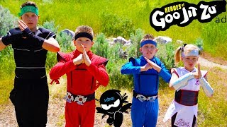 Heroes of Goo Jit Zu! Ninja Kidz TV
