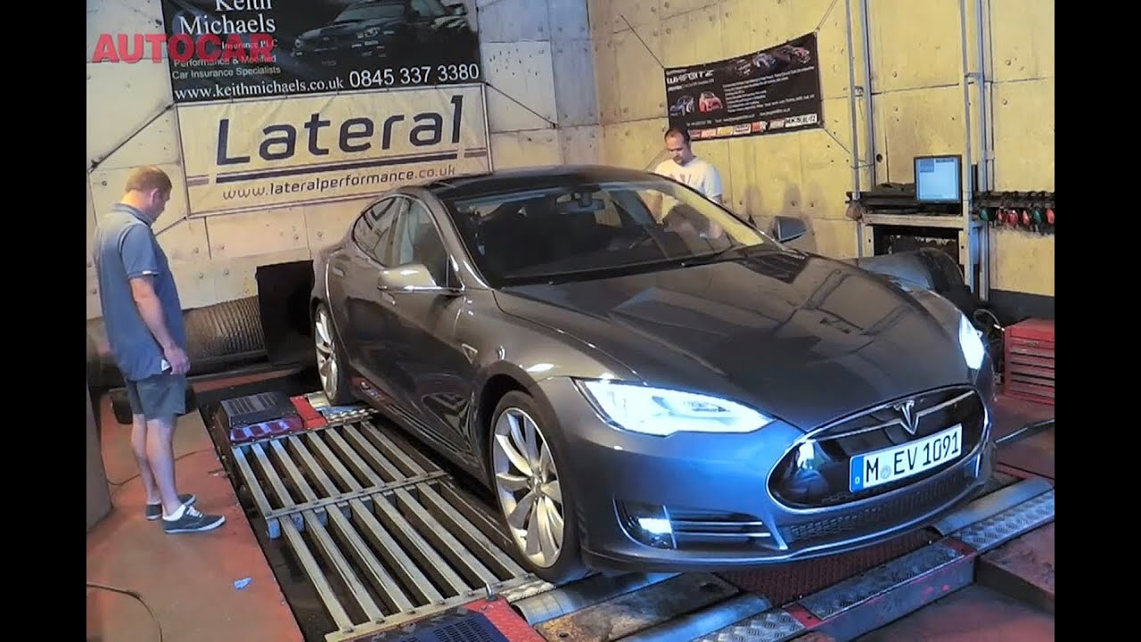 just how much power does a tesla model s produce youtube. Black Bedroom Furniture Sets. Home Design Ideas