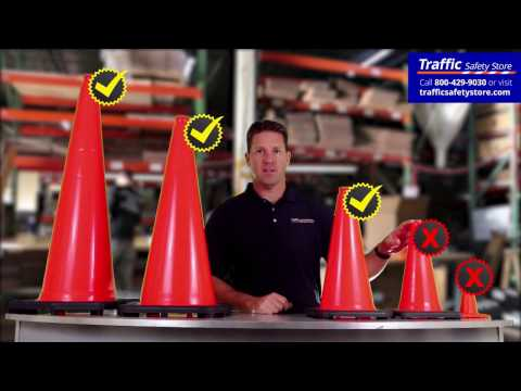 Which Traffic Cone Is Best For Your Project By Traffic Safety Store