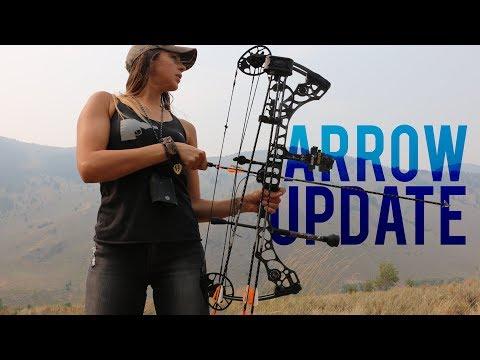 My Hunting Arrow Setup | Shafts Nocks Fletchings Broadheads And More!