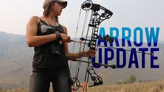 My Hunting Arrow Setup   Shafts Nocks Fletchings Broadheads and More!