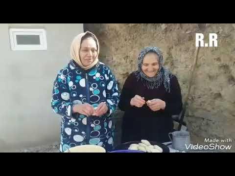 Təndirdə Naxçıvan çöçəsi