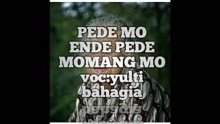 LAGU MANGGARAI TERBARU | PEDE MO ENDE PEDE MOMANG MO(yulti bahagia)