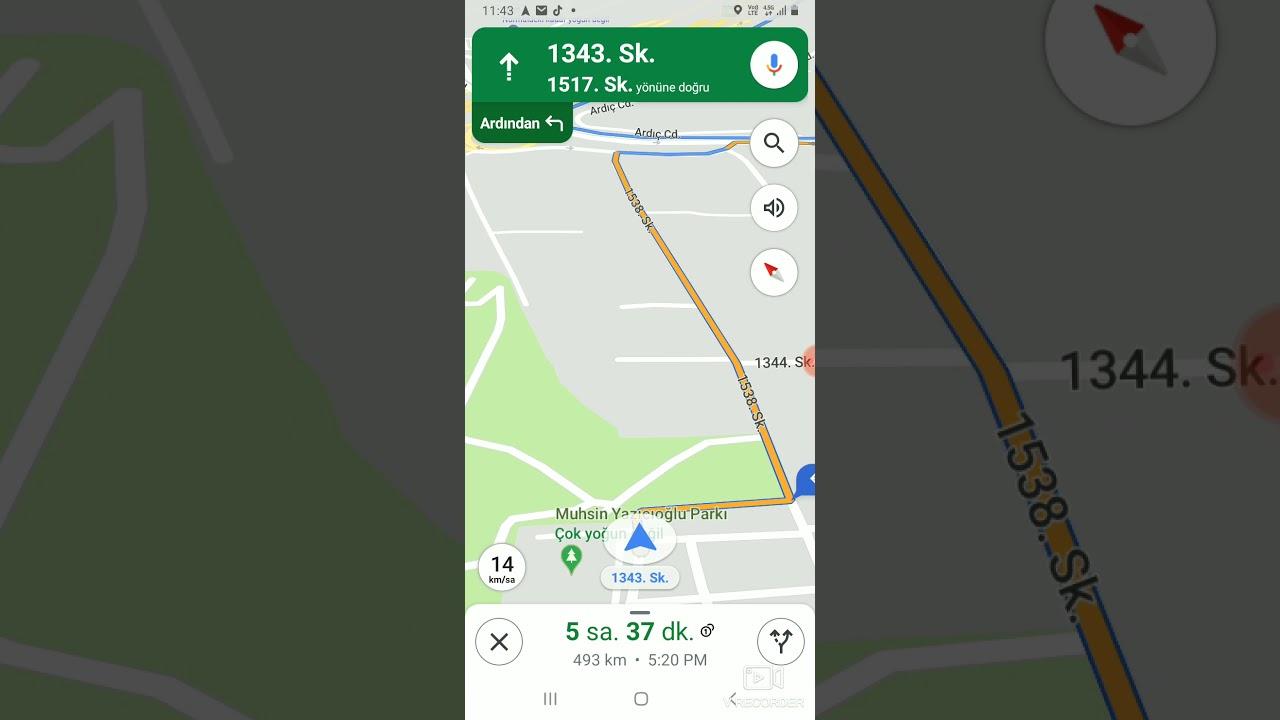 Çevrimdışı İnternetsiz Navigasyon (Google Maps) Kullanımı