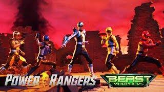 Power Rangers Official | All Battles in Power Rangers Beast Morphers Episodes 12-22