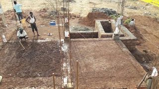 30 × 40 West face house plinth level