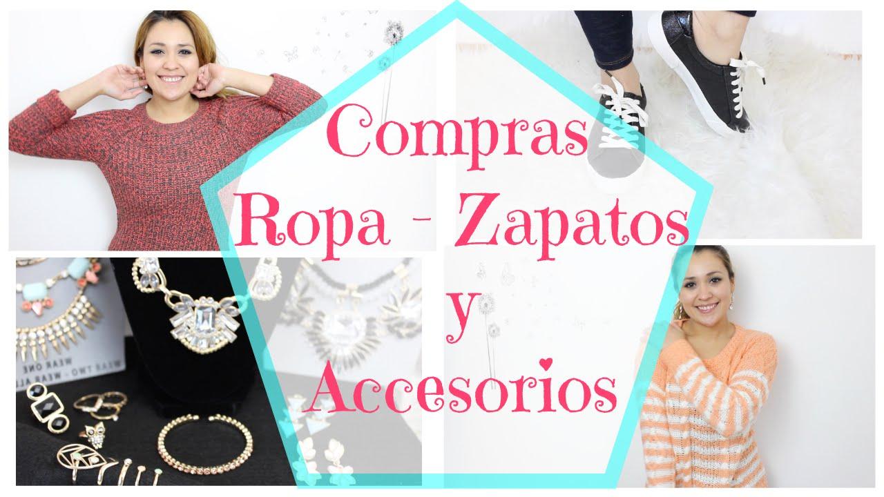 6b22f654 Compras de zapatos, ropa y accesorios - YouTube