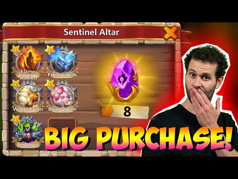 JT's Main Guild Turf Profress Big Purchase Castle Clash
