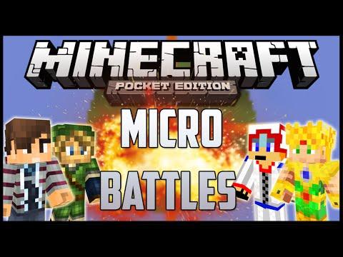MINEPLEX: Micro Battles con Monster, Lion y Lalo | Server Minecraft PE 0.15