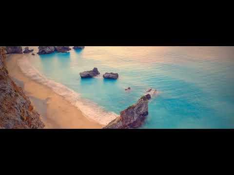 Морской пляж видео и берег моря релакс. Музыка настрой на позитив, хорошее настроение на весь день.