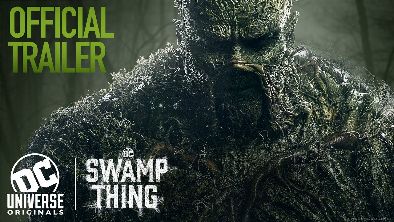 This weekend, stream the TV and film versions of DC Comics' Swamp Thing