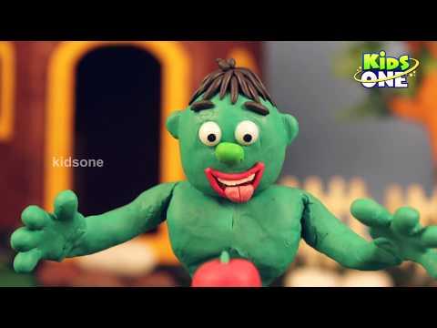 Hulk Gets Sick Needs Shot Prank   Play Doh Cartoon Videos   Superheroes prank Funny Videos - KidsOne