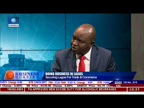 How To Secure Lagos For Improved Trade & Commerce  LCCI Pt.1