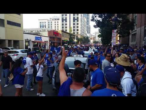 Dodgers Fans Take Over San Diego