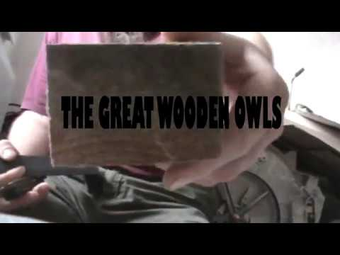 Berlogovich/DIY-The great wooden owls.