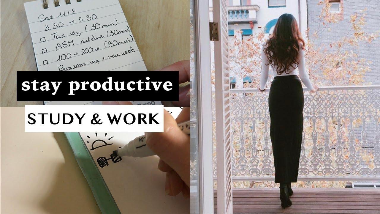 Lên kế hoạch HỌC & LÀM VIỆC đạt hiệu suất CAO – 4 bước dễ ợt | Phan Nữ Uyên Nhi