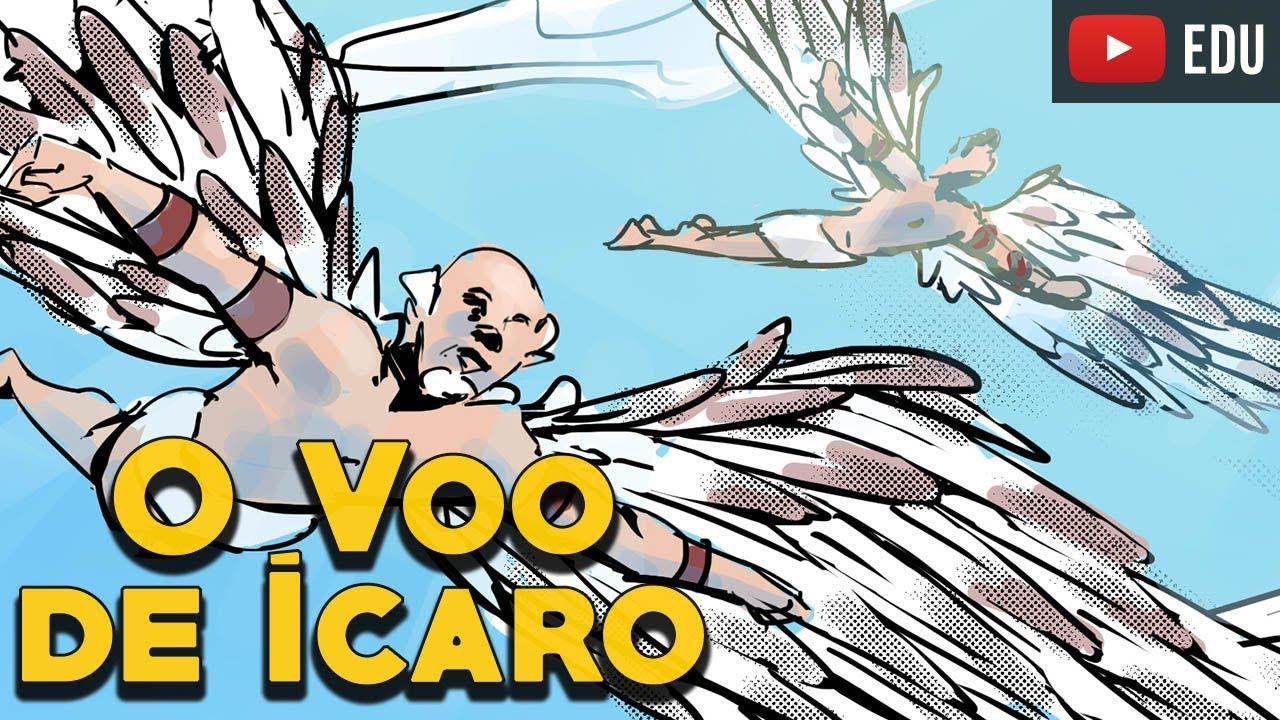 O Voô de Ícaro e Dédalo - Mitologia Grega em Quadrinhos - Foca na História - Webcomic - Webtoon