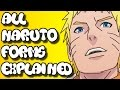 Naruto - Naruto All Forms & Transformations | Explained