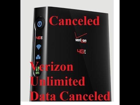 Verizon was unlimited data plan legacy Novatel T1114 canceled service  discount