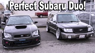 Best DUO? 2004 Subaru WRX STI & Subaru Forester