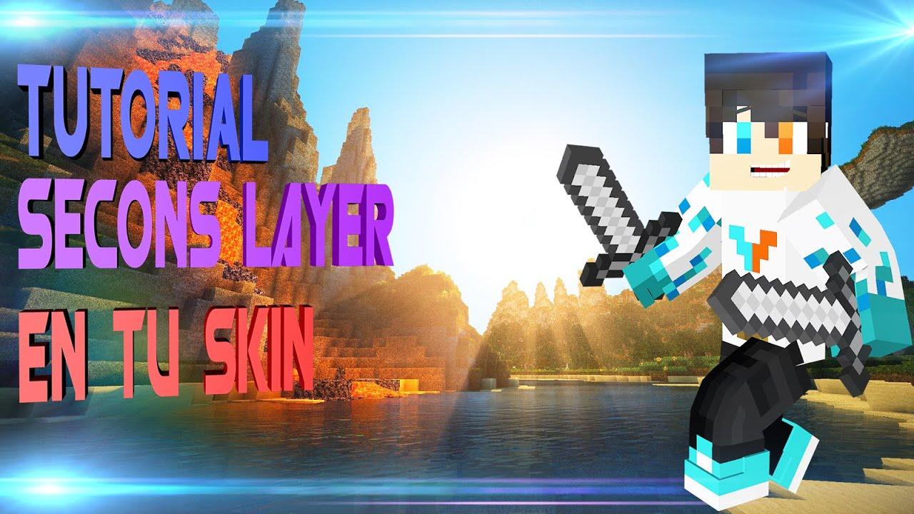Tutorial Como Poner Doble Capa De Skin Minecraft Premium - Skins para minecraft 1 8 con capa