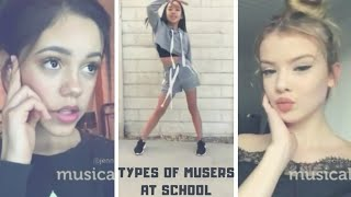 Types Of Musers At School