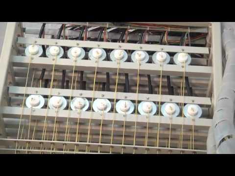 128 Hooks - Electronic Cardless Jacquard for Handloom Weaving