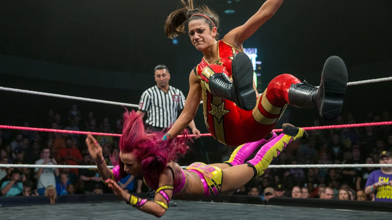 Bayley battles Sasha Banks in an historic WWE Iron Man Match: NXT TakeOver: Respect