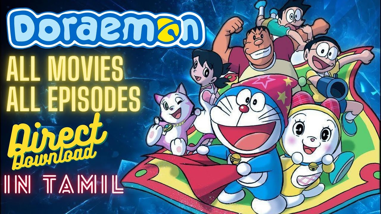 Download How to download doraemon movies in tamil   telegram download   new movies   spidy
