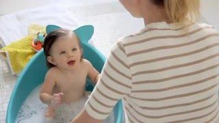 Skip Hop Moby Smart Sling 3-Stage Baby Tub Bathtub
