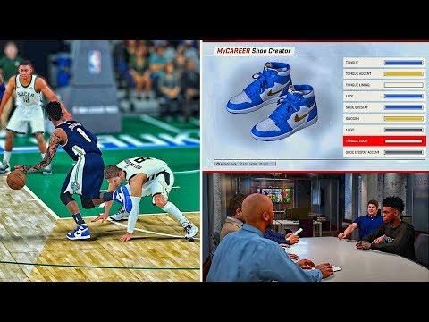 Jordan Signature Custom ColorWay | Buzzer Beater Ending vs Old Team | NBA 2k18 MyCareer #16