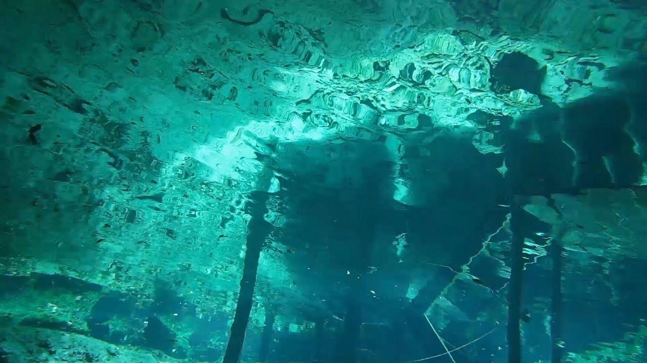 Cave Dive, Dreamgate Cenote, Akumal, Mexico