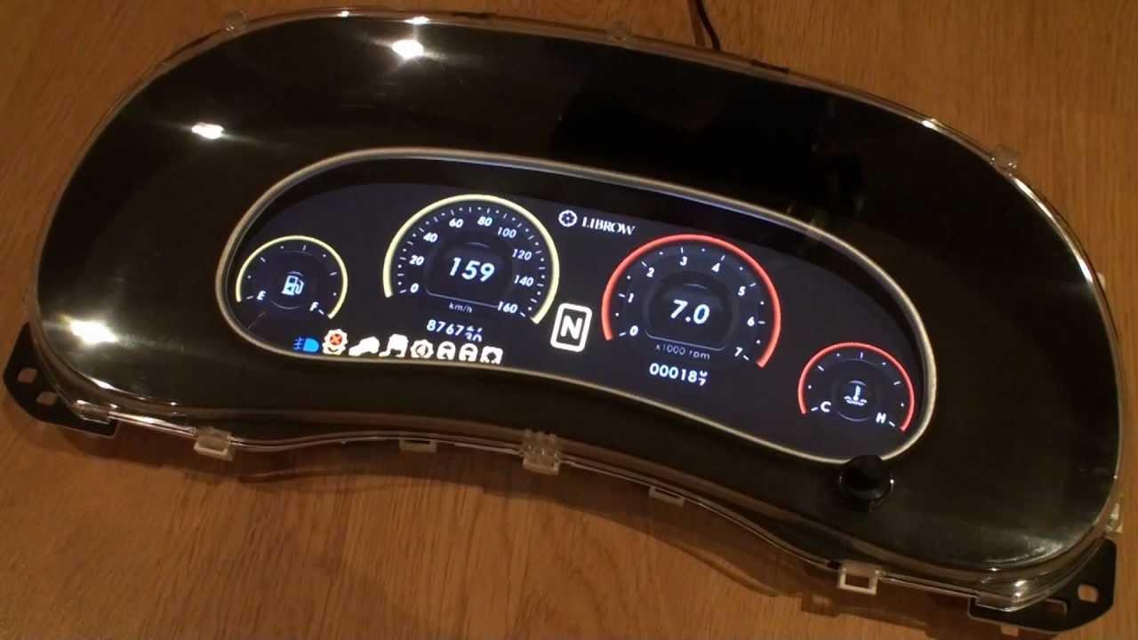 Jeep Wrangler Digital Gauges : Digital instrumentation for jeep wrangler youtube