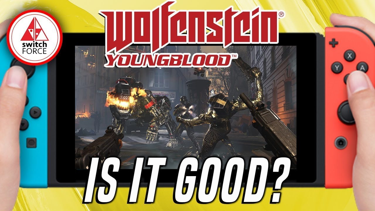 How Does It Run!? Wolfenstein: Youngblood Switch Handheld Test