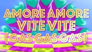 AMORE AMORE VITE VITE (Gas Gas Gas) - Patrick Sébastien - Vidéo Lyrics