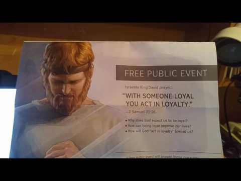 Jehovah's witnesses caught telling a lie in Their own brochures and pamplets part 1