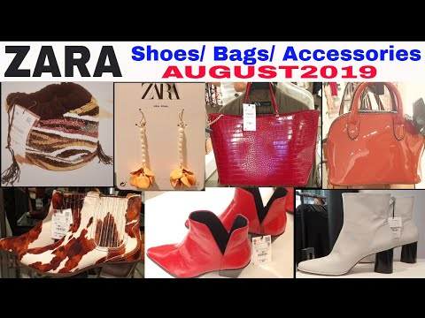 #ZARA | Shoes, Bags & Accessories NEW IN | #AUGUST2019