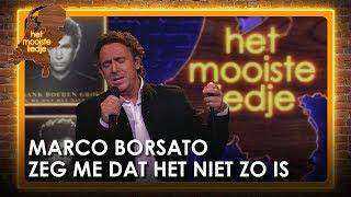 Marco Borsato eindigt als tweede tijdens finale Mooiste Liedje met Zeg me dat het niet zo is