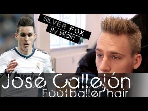 José Callejón Hair Tutorial Mens Football Player Hairstyle By - Sergio aguero hairstyle tutorial