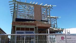 158 Наша стройка: поставили каркас второго этажа