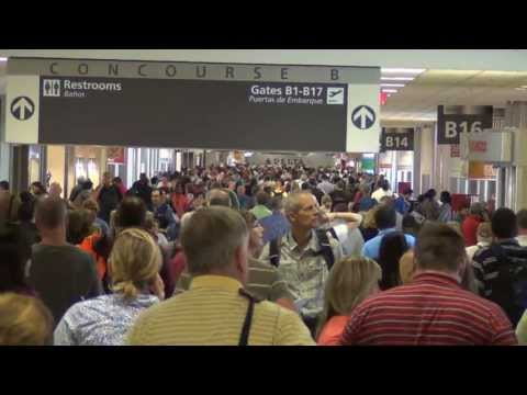A Tour of Atlanta International Airport, Concourses A, B, C, D, E, and F (2013)