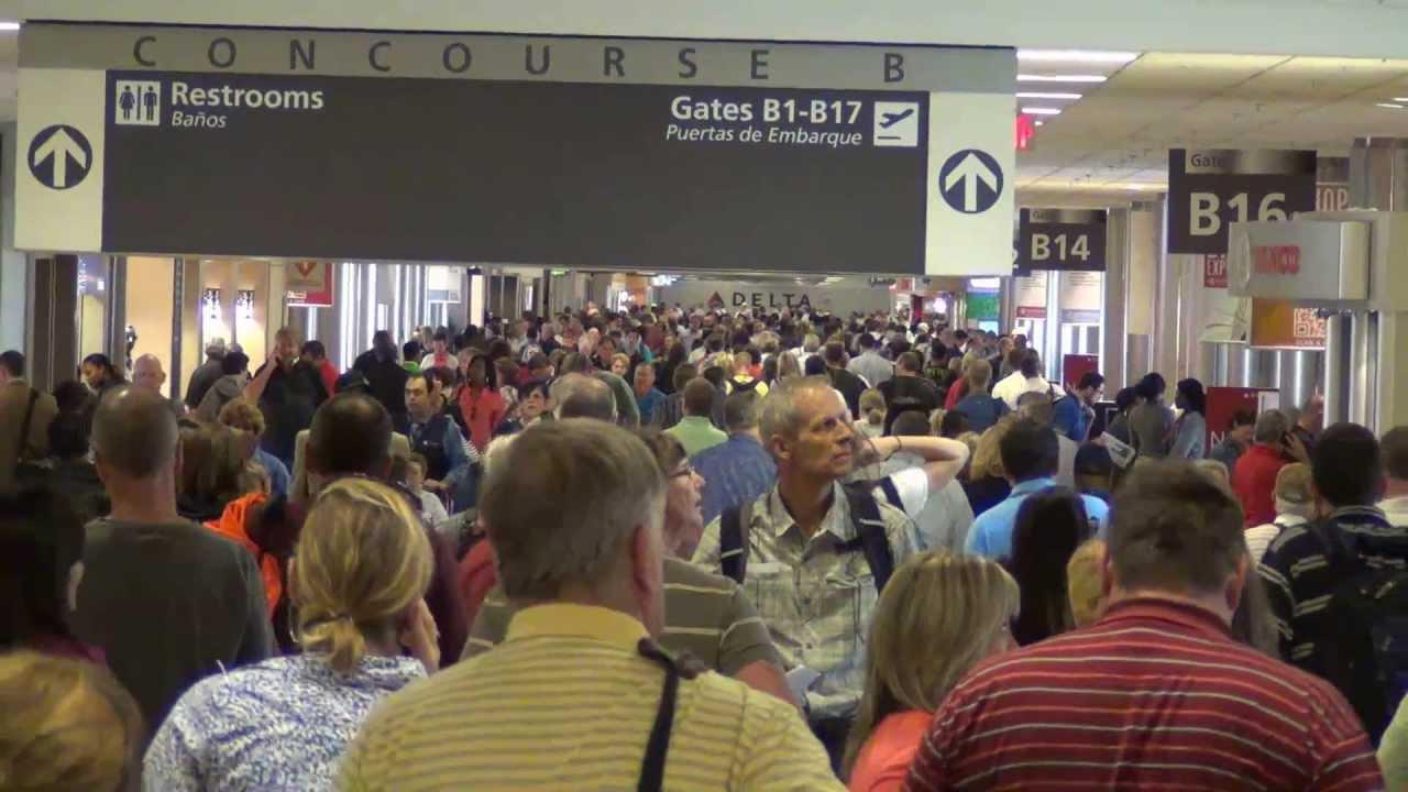 A Tour of Atlanta International Airport Concourses A B C D E