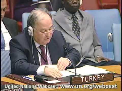 MaximsNewsNetwork: CYPRUS U.N. PEACEKEEPING FORCES (ORIGINAL LANGUAGE) UN S-C (UNTV)
