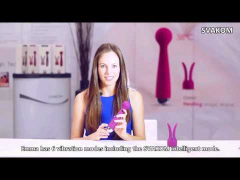 Emma - A heating Wand Massager for Woman by SVAKOM