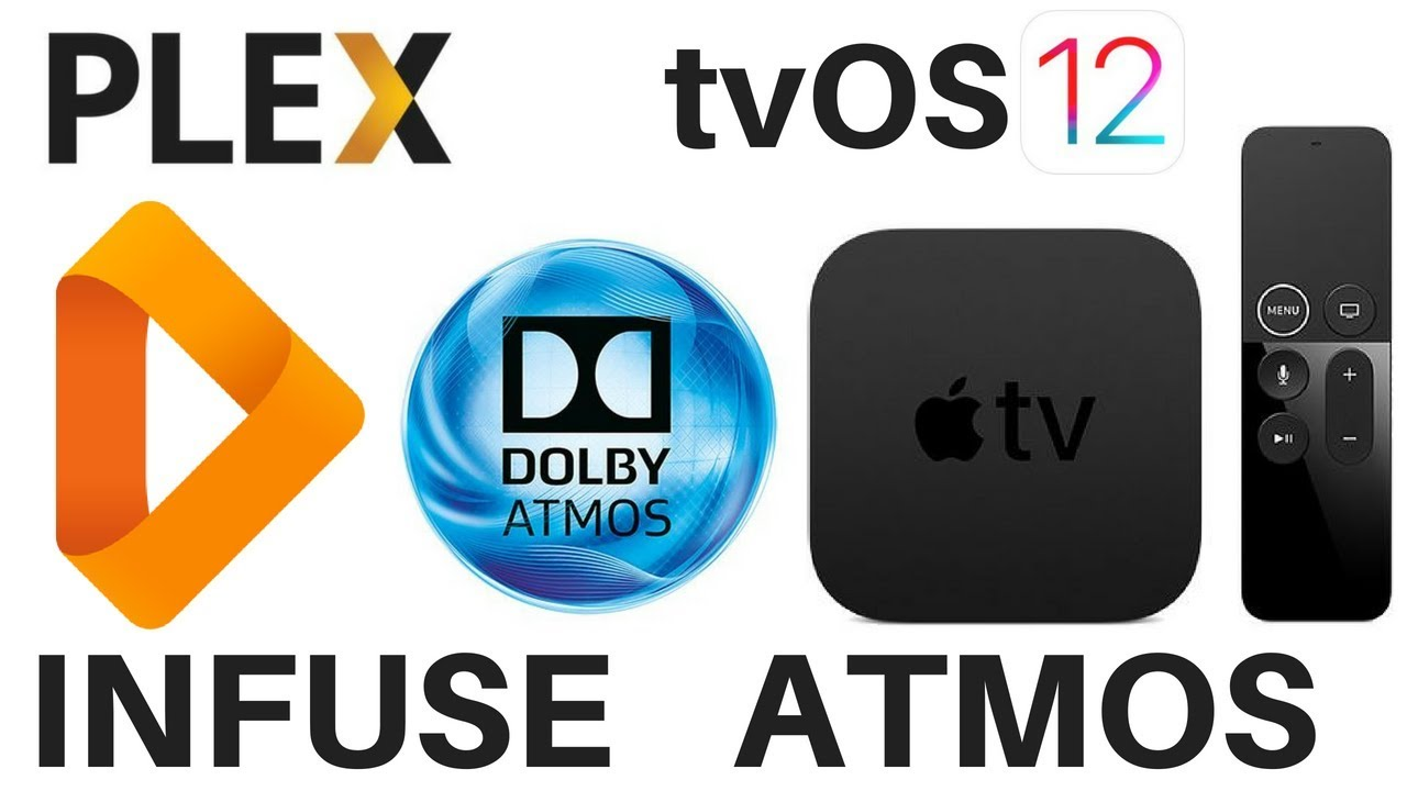 Apple TV 4K Infuse Dolby Atmos Playback Using Plex on tvOS 12
