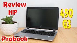 Review laptop HP Probook 450 G3 i5 6200u
